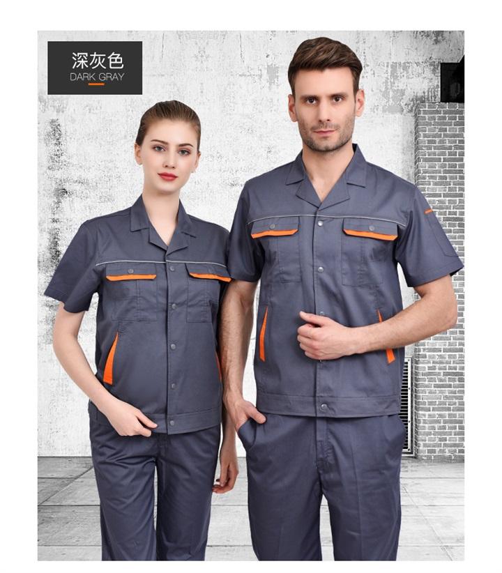 夏季CVC短袖工作服套装(图16)