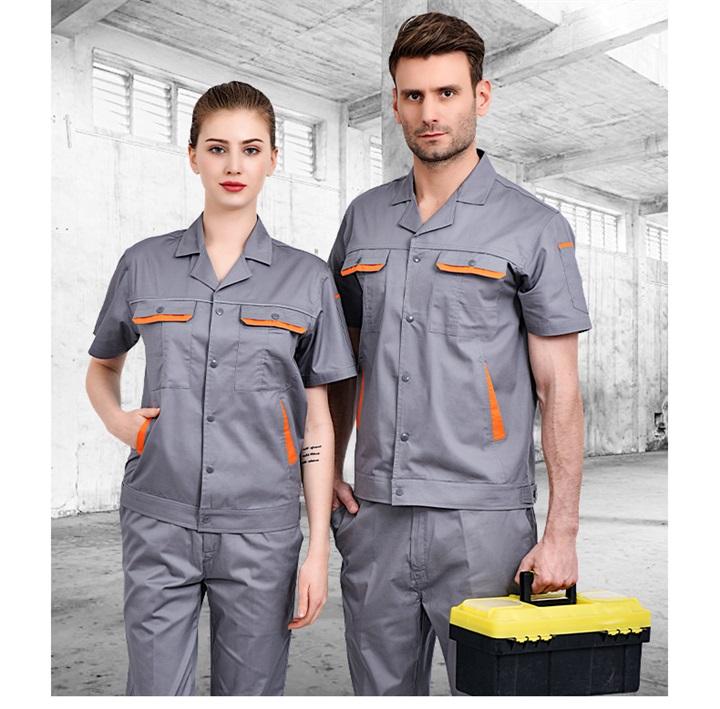 夏季CVC短袖工作服套装(图13)