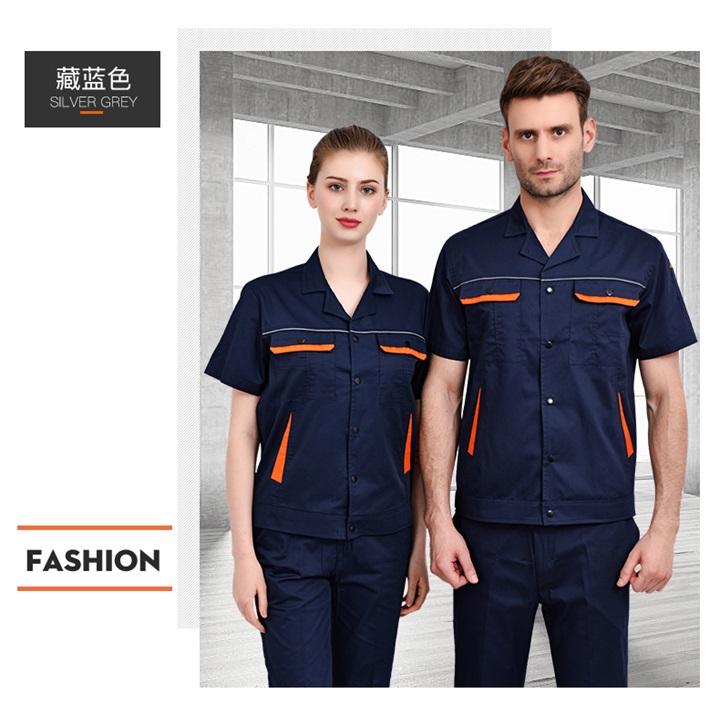 夏季CVC短袖工作服套装(图14)
